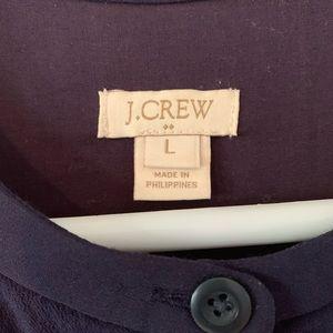 J. Crew Dresses - J CREW SHIRTDRESS WITH ROPE TIE BELT
